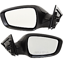 Mirror - Driver and Passenger Side (Pair), Power, Heated, Paintable, Models With Panoramic Roof and Without Side Repeaters