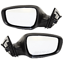 Mirror - Driver and Passenger Side Pair, Power, Heated, Paintable, w/ Turn Signal, Without Panoramic Roof, With Side Repeaters