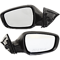 Mirror - Driver and Passenger Side (Pair), Power, Heated, Paintable, Models Without Panoramic Roof and Side Repeaters