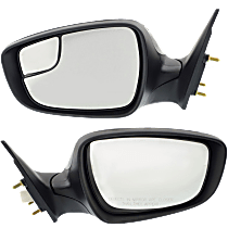 Mirror - Driver and Passenger Side (Pair), Power, Heated, Folding, Paintable, With Turn Signal, Korea or US Built Models