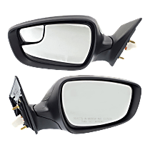 Mirror - Driver and Passenger Side (Pair), Power, Heated, Folding, Paintable, Korea or US Built Models