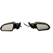 Driver and Passenger Side Heated Mirror - In-housing Signal Light, Without memory, Paintable