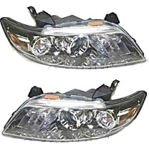 Driver and Passenger Side HID/Xenon Headlight, With bulb(s) - w/o Control Unit