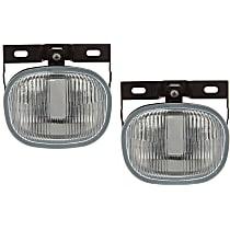Fog Light Assembly - Driver and Passenger Side