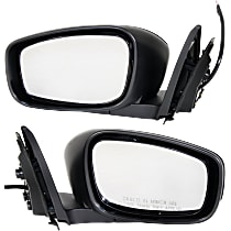 Kool Vue Power Mirror, Driver and Passenger Side, RWD, Coupe w/o Premium Package, Manual Folding, Non-Heated, Paintable