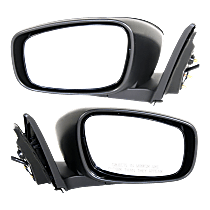 Mirror - Driver and Passenger Side (Pair), Power, Heated, Paintable, Convertible Models Without Premium Package