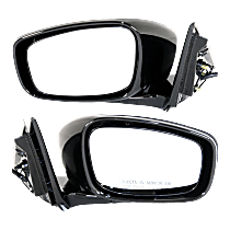 Mirror Heated Without Memory - Driver and Passenger Side, Paintable, Sedan