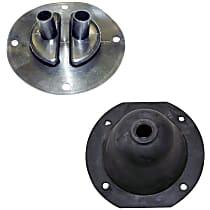 Crown SET-J0801058 Shift Boot - Rubber, Direct Fit, Set of 2