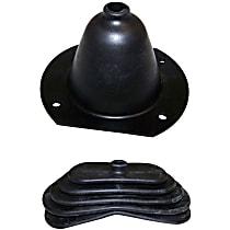 Crown SET-J0948185 Shift Boot - Rubber, Direct Fit, Set of 2