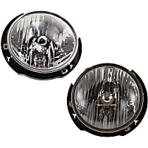 Headlights - Driver and Passenger Side, Pair, With Bulb(s), CAPA Certified