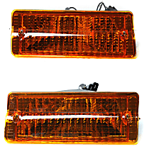 SET-J5460106 Driver and Passenger Side Parking Light, Without bulb(s)