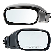 Mirror - Driver and Passenger Side (Pair), Textured Black