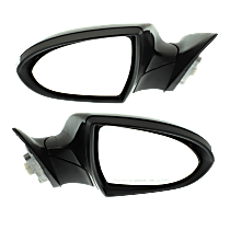 Mirror - Driver and Passenger Side (Pair), Power, Power Folding, Paintable, With Turn Signal