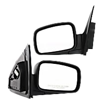 Kool Vue Power Mirror, Driver and Passenger Side, EX Model, Manual Folding, Heated, Paintable