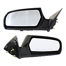 Mirror - Driver and Passenger Side (Pair), Power, Heated, Folding, Paintable, New Body Style