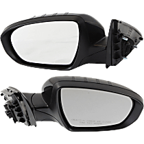 Power Mirror, Driver and Passenger Side, Manual Folding, (Korea Built, Sedan)/Hybrid Model, Non-Heated, w/ Signal, Paintable
