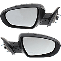 Mirror - Driver and Passenger Side (Pair), Power, Heated, Folding, Paintable, With Turn Signal, US Built Models
