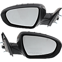 Mirror - Driver and Passenger Side (Pair), Power, Heated, Power Folding, Paintable, With Turn Signal, US Built Models