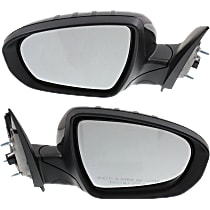 Kool Vue Power Mirror, Driver and Passenger Side, USA Built EX/EX Luxury/Limited/LX/SX/SX Turbo Models, Power Folding, HTD, w/ Signal, Paintable
