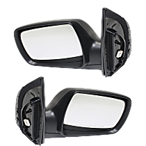 Mirror - Driver and Passenger Side (Pair), Power, Heated, Paintable, With Turn Signal, and Memory