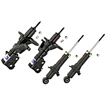 Performance Replacement Front and Rear, Driver and Passenger Side Strut - Set of 4