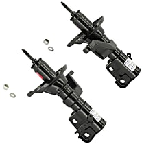 Performance Replacement Front, Driver and Passenger Side Strut - Set of 2