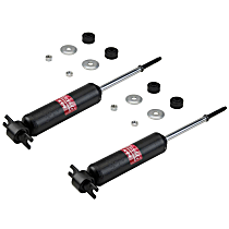Performance Replacement Shock Absorber - Set of 2 Front, Driver and Passenger Side