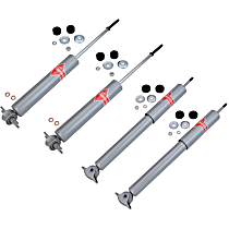 Performance Replacement Front and Rear, Driver and Passenger Side Shock Absorber - Set of 4
