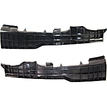 Front, Driver and Passenger Side, Lower Bumper Retainer