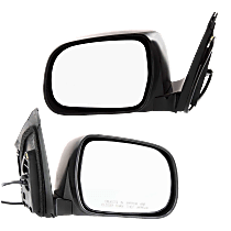Mirror - Driver and Passenger Side (Pair), Heated, Paintable
