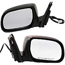 Mirror - Driver and Passenger Side (Pair), Heated, Paintable, With Memory