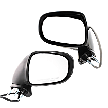 Mirror - Driver and Passenger Side (Pair), Power, Heated, Paintable, With Puddle Lamp