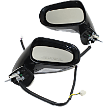 Mirror - Driver and Passenger Side (Pair), Power, Heated, Paintable, With Turn Signal & Memory, For Models With Luxury/Sport Package