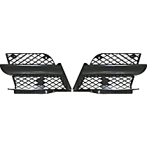 Grille Assembly - Black Shell and Insert, Driver and Passenger Side