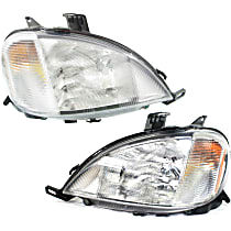 Driver and Passenger Side Headlight, With bulb(s) - Models With (163) Chassis and Without Sport Package