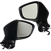 Mirror - Driver and Passenger Side (Pair), Power, Paintable, With Turn Signal and Blind Spot Function
