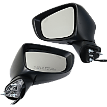 Mirror - Driver and Passenger Side (Pair), Power, Heated, Paintable, With Turn Signal and Blind Spot Function