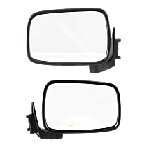 Kool Vue Manual Mirror, Driver and Passenger Side, Manual Folding, Paintable