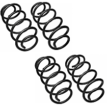 SET-MC80871 Front and Rear Coil Springs, Set of 2