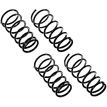 SET-MC81109 Front and Rear Coil Springs, Set of 2