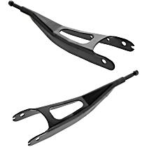 SET-MECMS401201-F Radius Arm - Black, Direct Fit