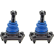 SET-MEMK5208-2 Ball Joint - Front, Driver and Passenger Side, Upper