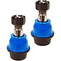 SET-MEMS25516-2 Ball Joint - Front, Driver and Passenger Side, Lower