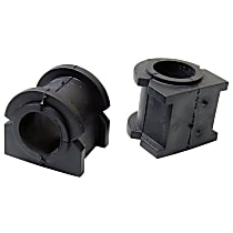 Mevotech SET-MEMS258103-2 Sway Bar Bushing - Black, Rubber, Non-greasable, Direct Fit, Set of 4