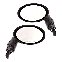Power Mirror, Driver and Passenger Side, Power Folding, Heated, Paintable