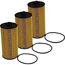 Oil Filter - Canister, Direct Fit, Set of 3