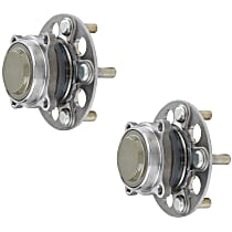 SET-MO512538-2 Rear, Driver and Passenger Side Wheel Hub Bearing included - Set of 2
