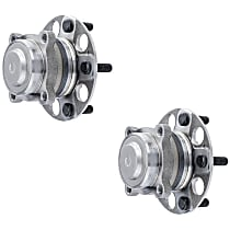 SET-MO512544-2 Rear, Driver and Passenger Side Wheel Hub Bearing included - Set of 2