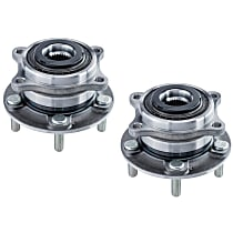SET-MO513374-2 Front, Driver and Passenger Side Wheel Hub Bearing included - Set of 2