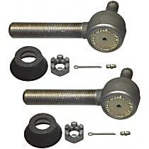 Tie Rod End - Set of 2 Front and Rear Passenger Side